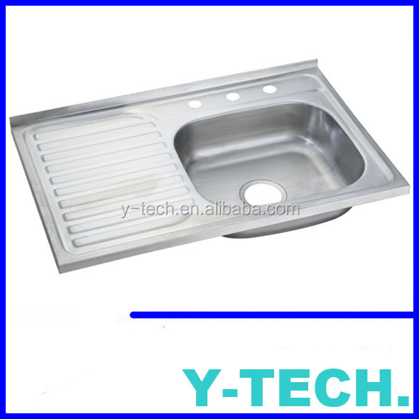 Insert Stainless steel kitchen sink South America style YKX80R
