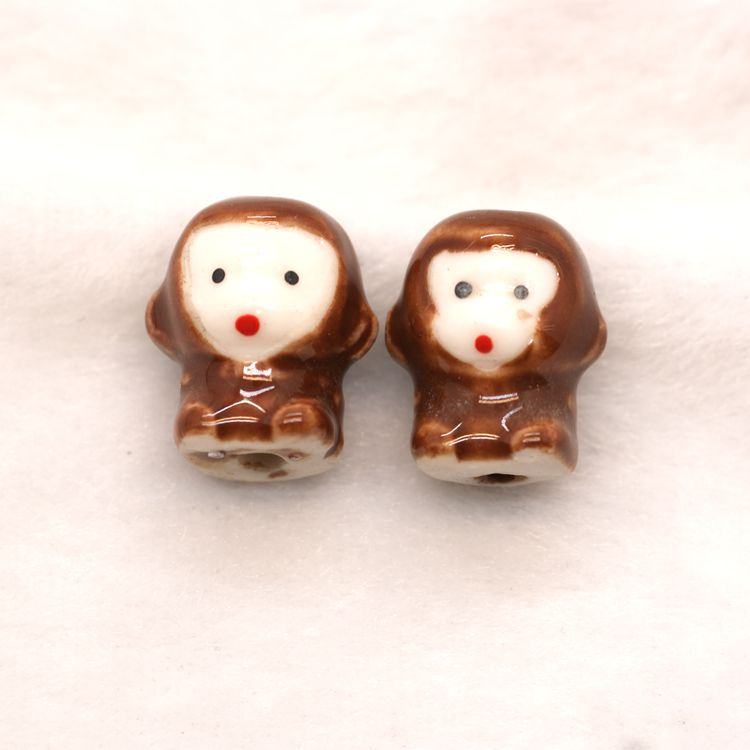 monkey shape animal beads of twelve Chinese zodiac signs