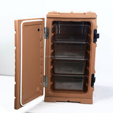 KJB-X05Eco-friendly Isothermal Box,6 layers Roto-molded Chilly Chest, Plastic Insulated Food Pan Cabinet