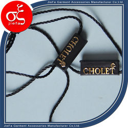 woven satin garment tags Promotion