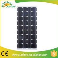 Poly crystalline best solar cell pv solar panel 90w with low price