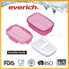 Practical Reusable New Style Fancy Food Storage Container With Divider