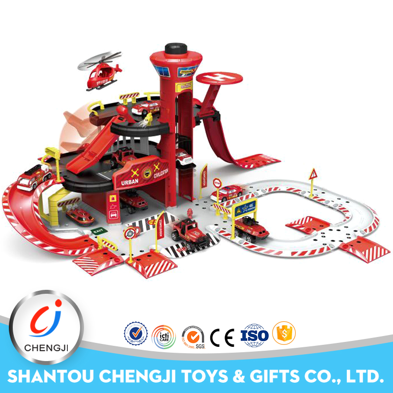 High quality newest rail plastic toy train hot wheels track toys