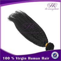 Best Selling Indian Virgin Remy Fusion Yaki Human Hair Extensions