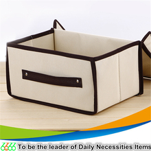 Chinese supplier christmas ornament storage box foldable fabric living box