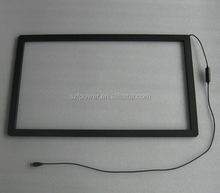 23.6 inch easy install 6 touches IR touch screen,driver free USB interface