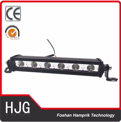 2016 new type single row led headlight 18w led off road light bar 12v high quality lights