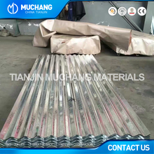 Channel steel metal building materials color coated corrugated roofing sheet
