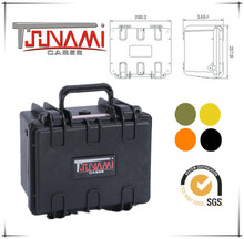High Impact Plastic cases Waterproof panel equipment case Carrying military hard cases with foam 221614