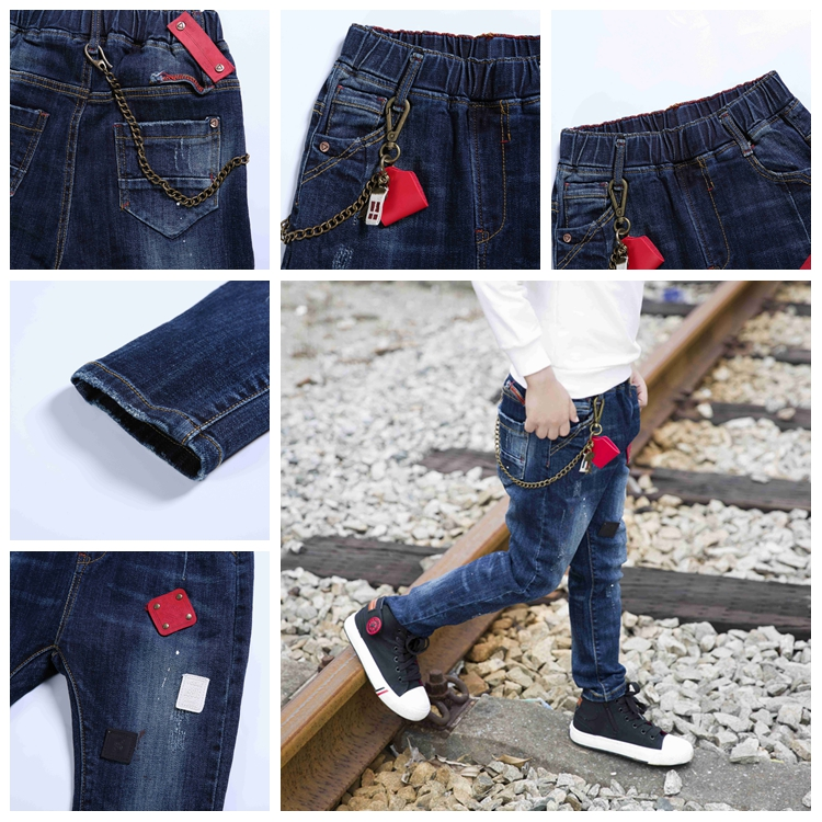 Latest Design Bottom Price 2017 Jeans Kids