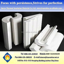 Insulation Material ---Calcium Silicate Insulation Pipe Cover for Fireplace