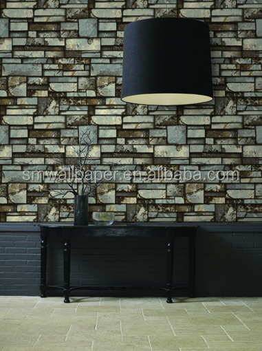 Hotel wall coverings wallpaper suppliers from china 3D photo paper wall
