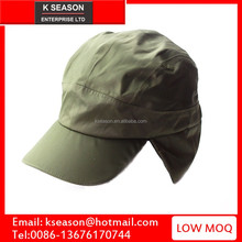 Low MOQ custom Fishing Cap with Ear and Neck Flap Cover - Outdoor Sun Protection hat