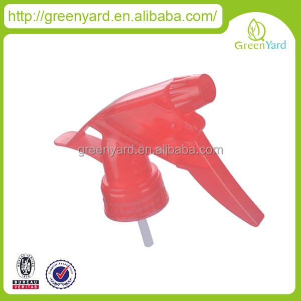plastic trigger sprayer mouth spray bottles for liquid GY109