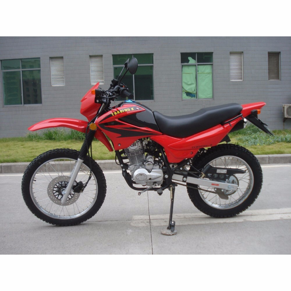 Suitable price air-cooled powerful street legal 200cc dirt bike