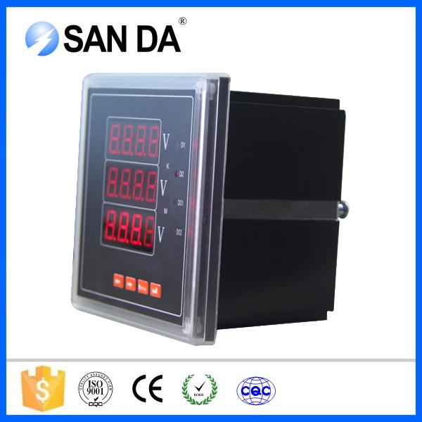 Three Phase Voltmeter : Sd av phase ac volt meter electrical buy