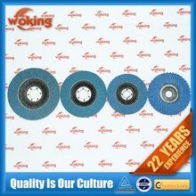 China Zirconia abrasive disc with glass fiber backing