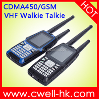 Olive W18 GSM/CDMA450MHz UHF/VHF Dual Mode Walkie Talkie IP67 Waterproof Strong CDMA Mobile