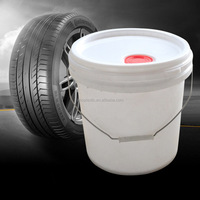 Plastic pail wholesale turnover barrels barrels 16 liters plastic bucket antifreeze tire wax barrel