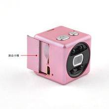 Hidden micro camera full hd cube camera with magnetic backup, handing over bag or put on porket small video camera