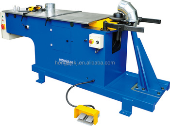 HJTF1250 Pipe elbow forming machines, air duct making machine