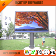 P10 P6 P8 pole led display signs wifi 3G outdoor advertising street led display