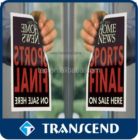 Customized Static Cling Window Sticker personalized die cut window sticker