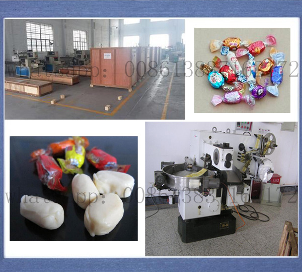 Candy Sweet Confectionery Single Twist Packing Machine