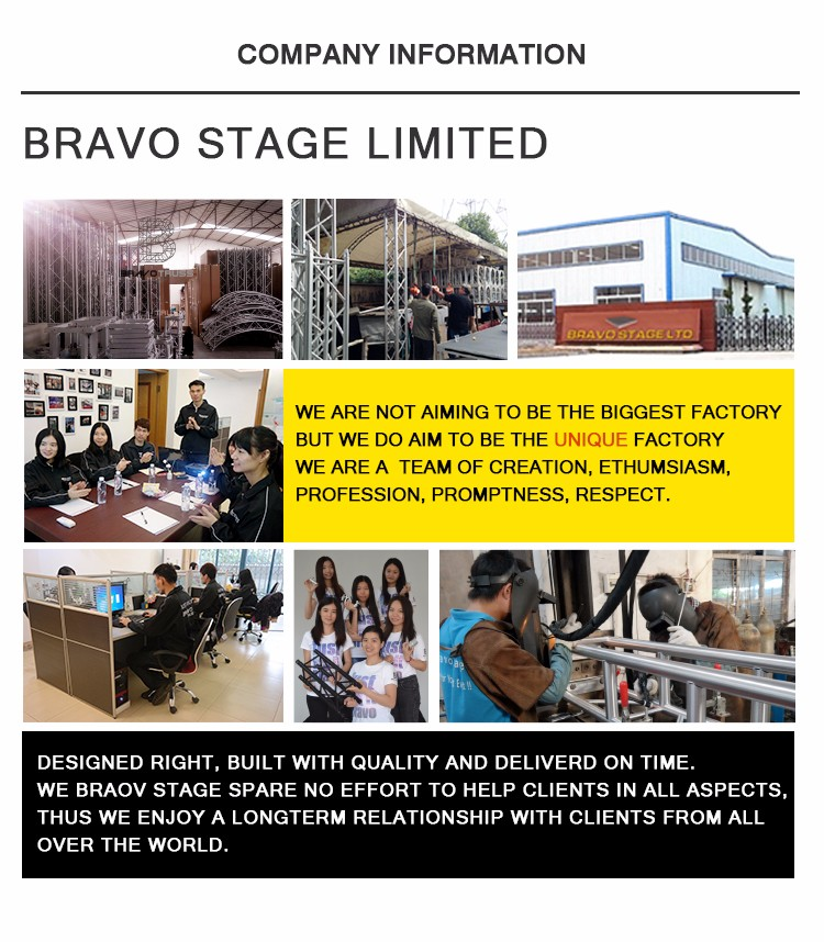 Bravo Stage Cheap Portable Stage Platform Aluminum Stage for sale