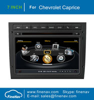 "7"" Touch screen Car Stereo for Chevrolet Caprice with Gps Navi,3G,Wifi,A8 Chipset ,Bluetooth,Ipod,Free map Support DVR,DVB-T"