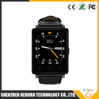 1.63 Inch No.1 D6 3G Smartwatch Phone Android 5.1 MTK6580 Quad Core WiFi Bluetooth 4.0 GPS Smart Watch