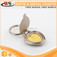 China supplier 2D/3D custom keychain coin holder