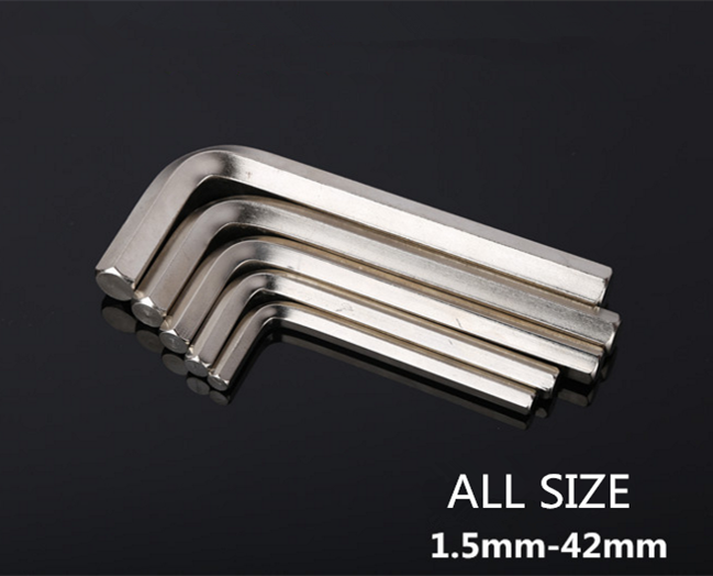 Hex key wrench 27mm security allen wrench hex key