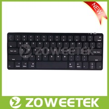 Zoweetek Wireless Bluetooth 3.0 USB computer keyboard for PC iPad Smart Phone