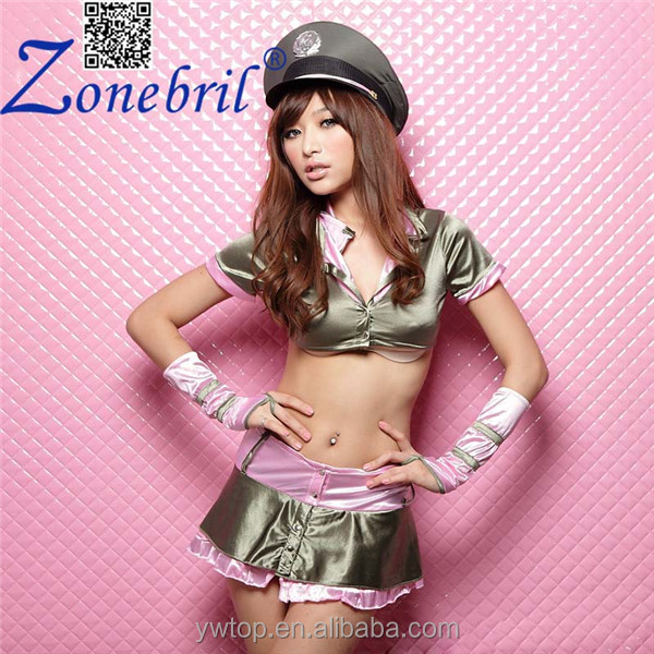 Black 2015 New woman sex hot police Girl sexy Latex cop costume