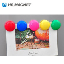 2017 Colorful Magnetic Button Fridge Magnets
