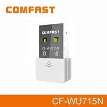 Comfastcf-wu715n150mbpswifiusbワイヤレスアダプタフリー高速インターネットアダプタ