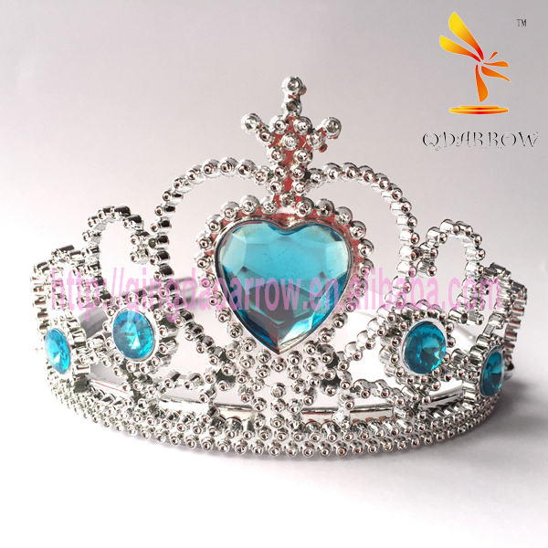Classic Blue Stone Girls Crystal Tiaras and Crowns