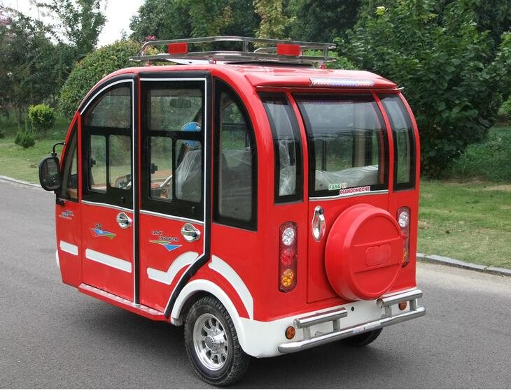 NEWEST Fully Cover passenger energy three wheel electric tricycle