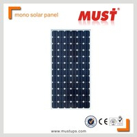 MUST CE/IEC/TUV/UL Certificate High efficiency 250W pv solar panel price