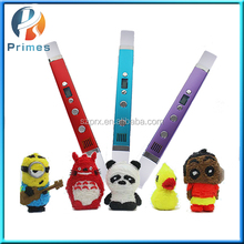 2016 Primes warehouse patent 3d printing pen 3D Christmas child gift with cover