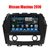 China Factory 10.1'' one din Android Car GPS Radio DVD player for Nissan Maxima 2016 with Full touch screen