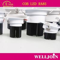 NEW DESIGN Professional Adjustable 7W LED COB anti-glare cob downlight 12w