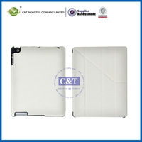 Professional beauty case for ipad mini retina retro design leather cover