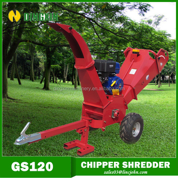 15hp Red Wood Shredder with CE certificate