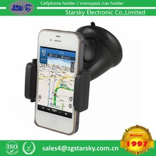 2015 hot selling Universal Car phone Holder Windshield Cradle Phone Clip Mount Desktop Holder