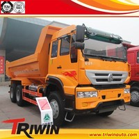 EURO 3 4 diesel engine 249KW 340hp 6x4 dump lorry quarry trucks for sale