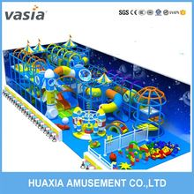 Inflatable indoor playground equipment jungle obstacle course