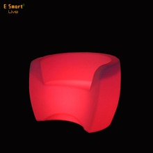 rgb led color changing fancy sofa/dining furniture sofa