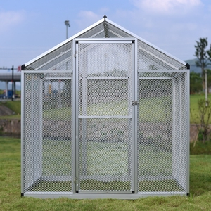 Made in China factory direct sale aluminum bird cage